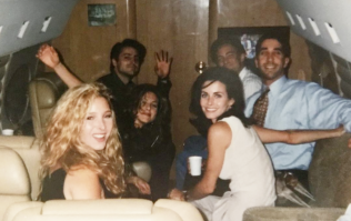 Ranking all six Friends from least to most rat-arsed in that Vegas throwback photo