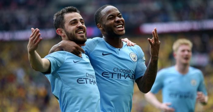 Manchester City hit Watford for six in one-sided FA Cup final