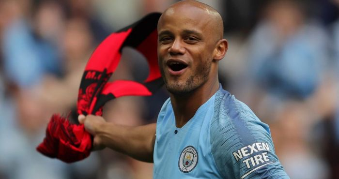 Vincent Kompany pens open letter to Manchester City fans after leaving club