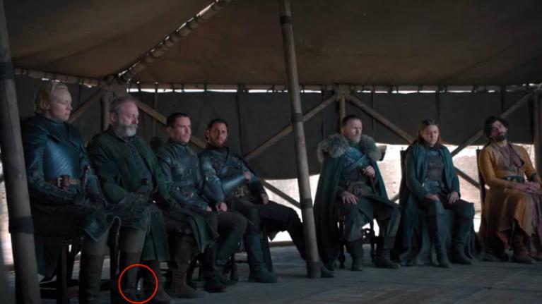 Game of Thrones series finale sees plastic water bottles left in crucial scene