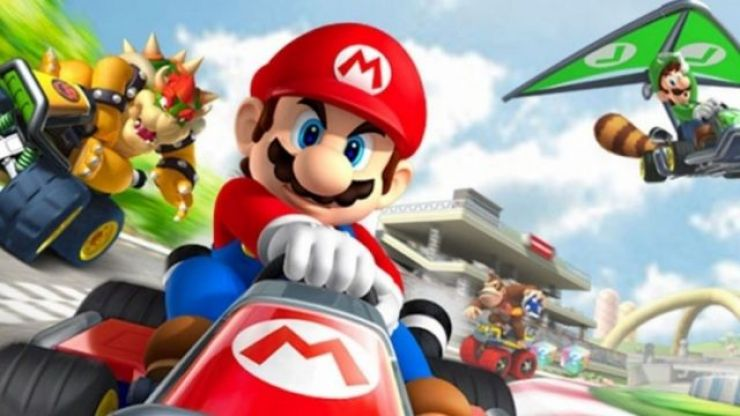 First images from Mario Kart mobile game released online
