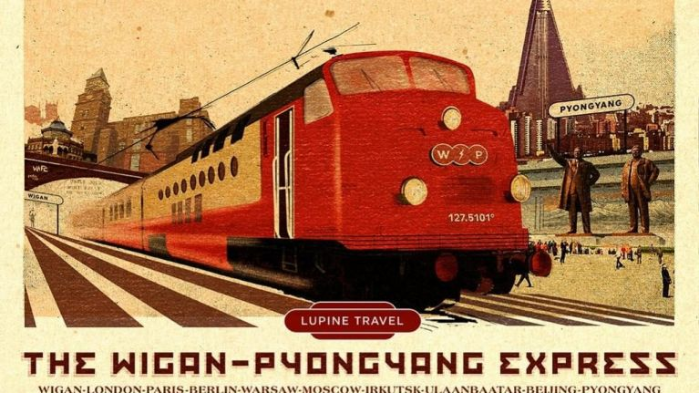 You can soon get a train from Wigan to North Korea