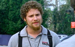 Seth Rogen discusses the joke that he regrets making in The-40-Year Old Virgin