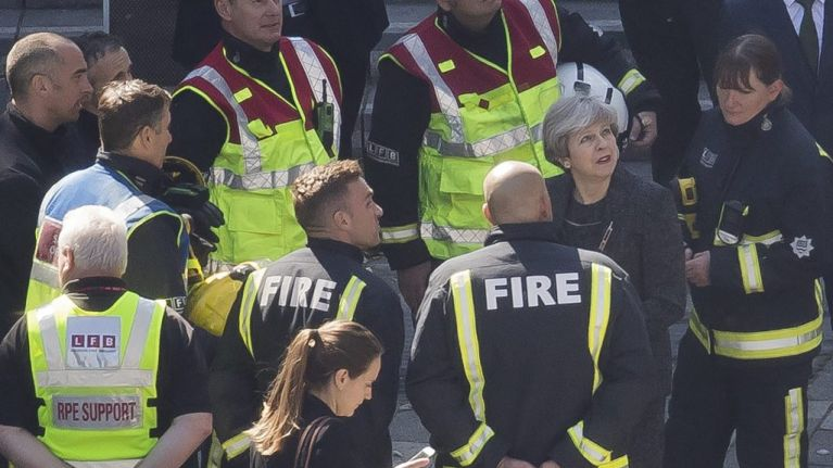 Theresa May labelled 'disgraceful' by Fire Brigades Union for listing Grenfell response as part of legacy