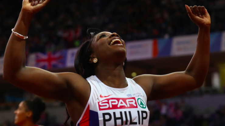 Sprinter overcomes gruesome gymnastics injury to win Olympic medals