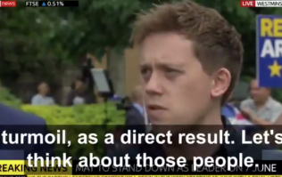 Owen Jones says he has 'less than no sympathy' for Theresa May
