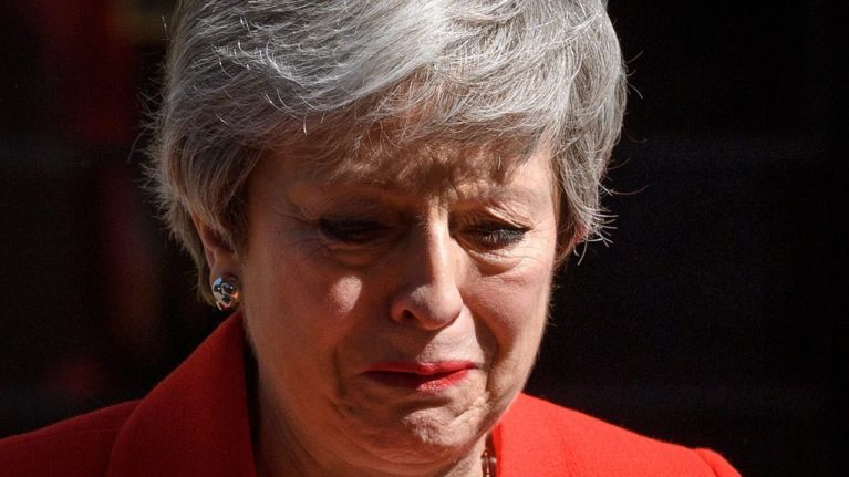 Theresa May had tears for herself, but not for anyone else