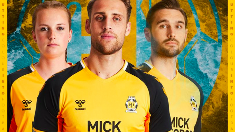 Cambridge United unveil early contender for kit of the season