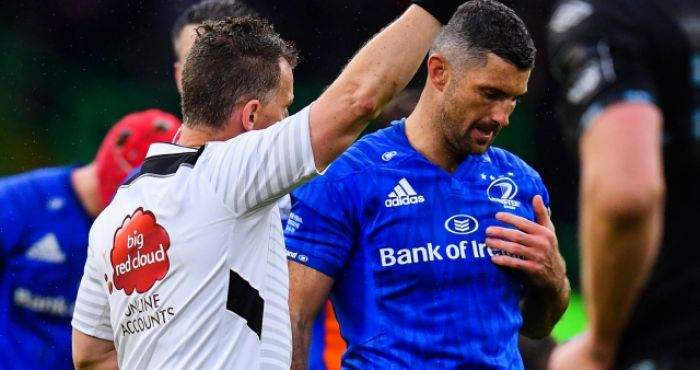 Nigel Owens accused of 'bottling' massive Rob Kearney decision