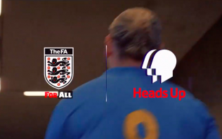 Football Association launches 'Heads Up' mental health campaign