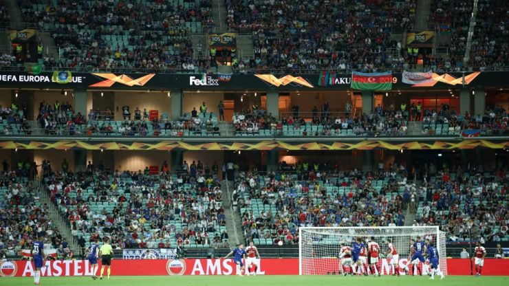 Europa League final stadium farce proves UEFA doesn't care about football fans