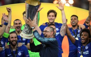 Maurizio Sarri pulls out massive cigar immediately after Europa League win
