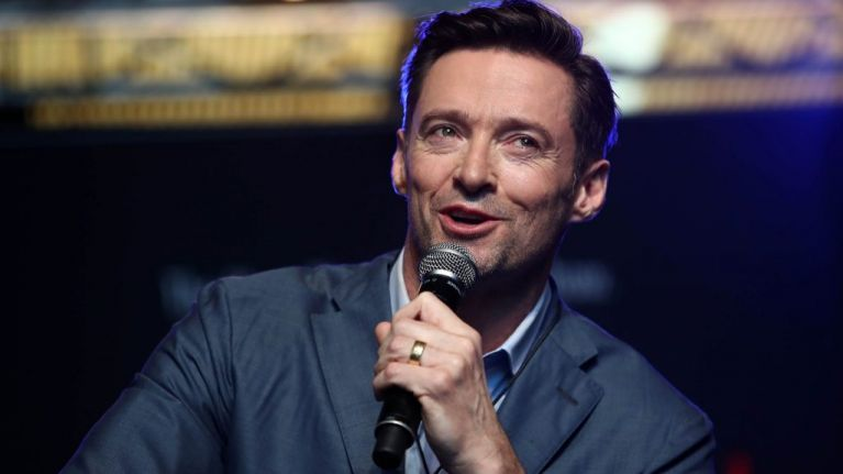"""""""I've waited 50 years for this one."""" Hugh Jackman drinks Guinness for the first time in Ireland"""