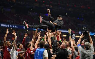 Jurgen Klopp says he's 'half pissed' in Champions League final interview