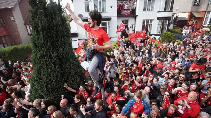 Here are all the best photographs from Liverpool's trophy parade