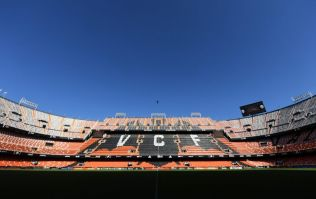 Valencia erect statue of blind fan in his seat to honour his memory