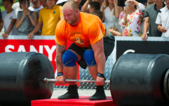 The Mountain easily crushes a 365kg deadlift ahead of World's Strongest Man