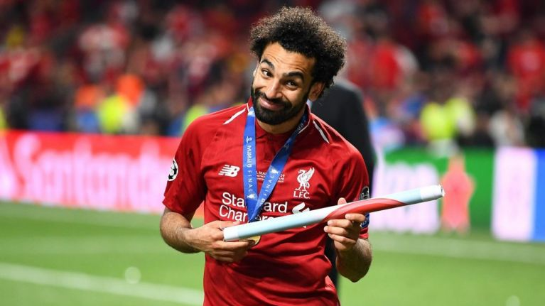 Mo Salah thought a reporter was trying to kiss him during Champions League interview