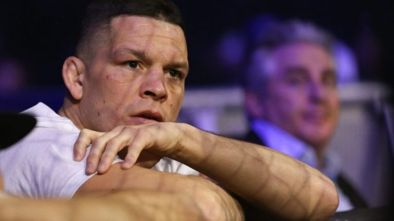 Nate Diaz on the greatest UFC idea that never happened