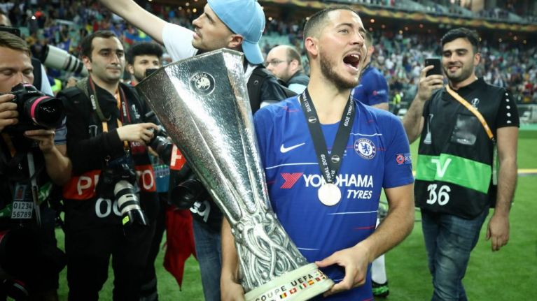 Thibaut Courtois drops Twitter hint that Eden Hazard Real Madrid deal is close