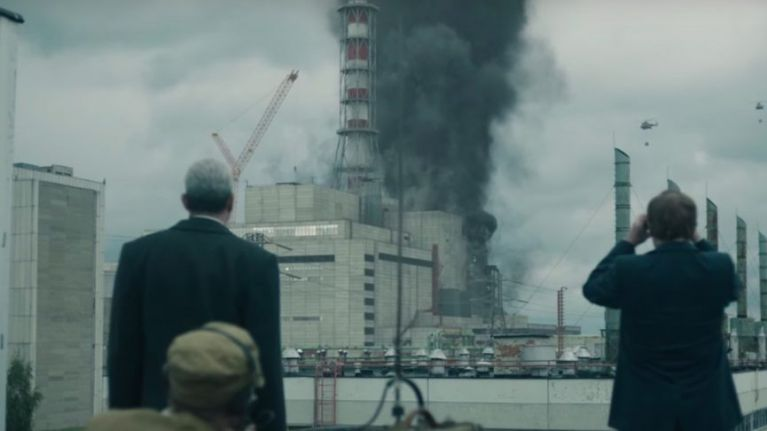 Russia is remaking Chernobyl with the Americans as the bad guys