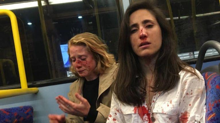 Two women beaten in homophobic attack on London bus