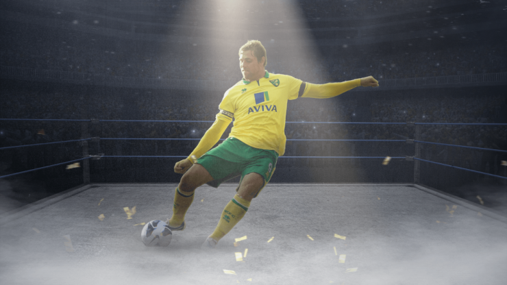 The incredible story of how Grant Holt went from cult footballer to pro wrestling hero
