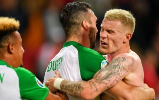 James McClean hits back at Danes after pre-match comments