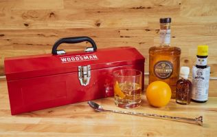 The Woodsman Whisky toolbox is the perfect gift for Father's Day