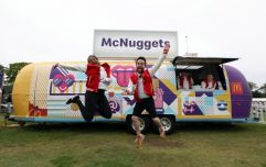 McDonald's offer lucky couple chance to have wedding catered by McNugget van