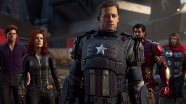 Fans are not happy with the Avengers not looking like the movie cast in new game trailer