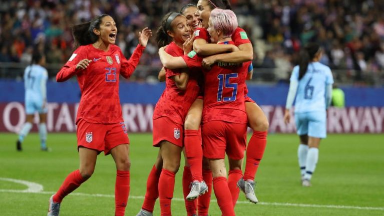 United States break World Cup record score by beating Thailand 13-0
