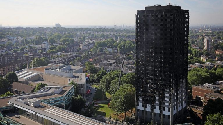 Grenfell United beam safety warnings on towers across country