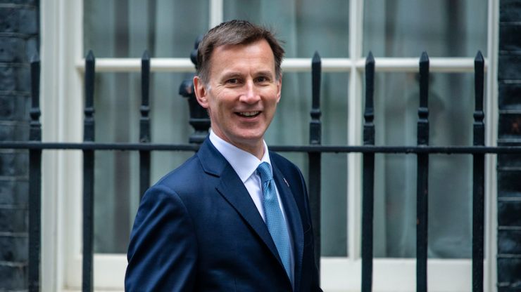Jeremy Hunt tells broadcasters to 'grow up' for repeatedly calling him 'C**t'