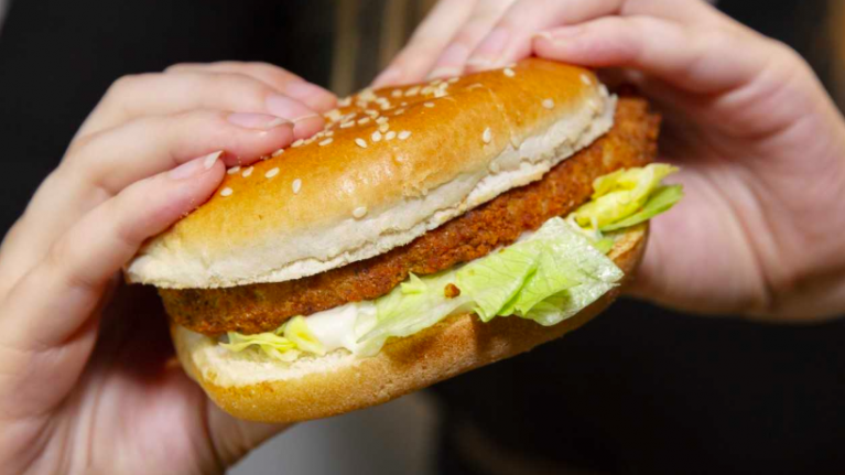 KFC are about to start selling a vegan chicken burger
