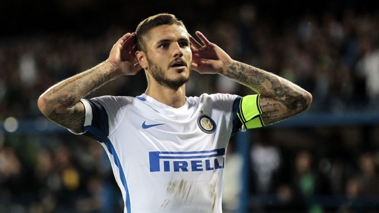 Mauro Icardi linked with surprise move to David Beckham's Miami MLS franchise