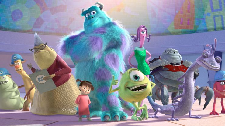 Here is the first look at Disney's Monsters Inc TV show