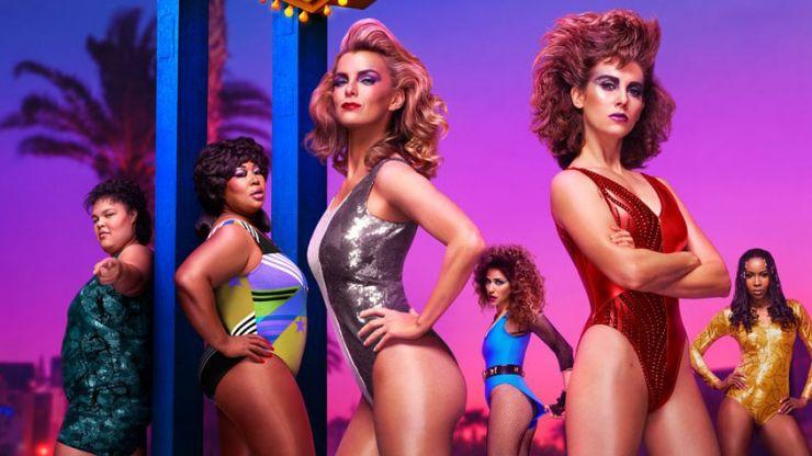 GLOW season three trailer bring the Vegas glitz and the 1980s bangers