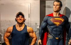 Superman star Henry Cavill on building bigger arms with limited gym time