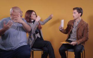 Tom Holland, Zendaya and Jacob Batalon play 'Guess The Marvel Character'