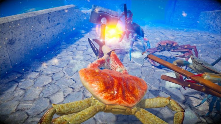 Say hello to Fight Crab, the video game you never knew you needed