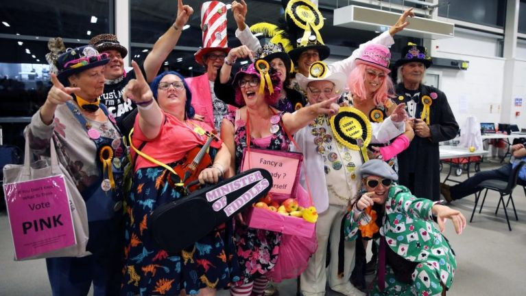 I tried to join the Monster Raving Loony party