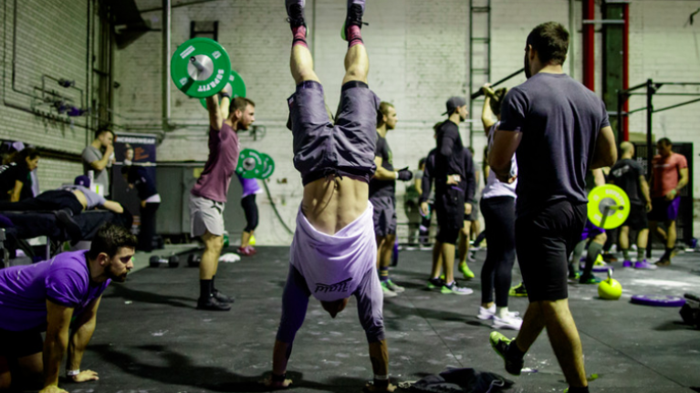 Day one of the CrossFit Games provides the perfect full-body workout
