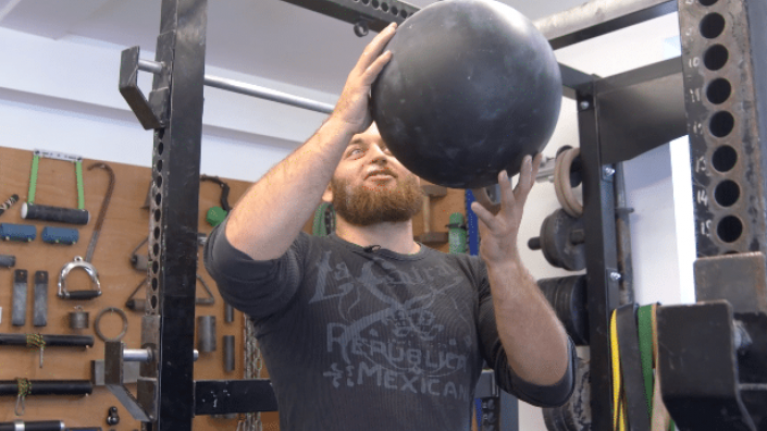 Inside the epic grip strength gym in one man's garage