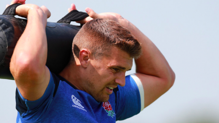 England centre Henry Slade on the changes he made to his diet and training