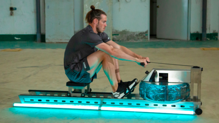 The rowing machine workout behind Gareth Bale's elite endurance levels