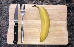 The Queen eats bananas with a fork, so I tried it