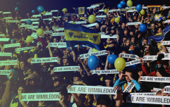 AFC Wimbledon's homecoming offers hope to clubs threatened by extinction