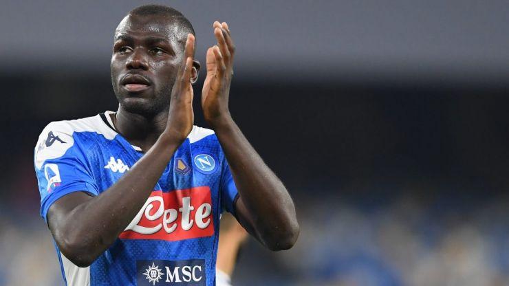 Koulibaly's best van Dijk impression drives Napoli past Liverpool