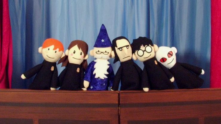 Ranking the Potter Puppet Pals from least to most vocally proficient